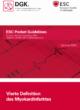 Pocket-Leitlinie: Vierte Definition des Myokardinfarktes (Version 2018)