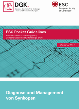 Pocket-Leitlinie: Diagnose und Management von Synkope (Version 2018)
